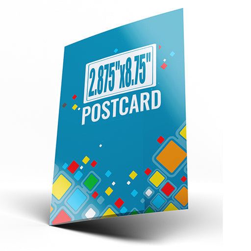 "2.875""x8.75"" Postcards (Chicago Local Pickup Available)"
