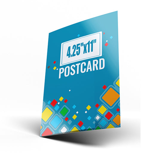 "4.25""x11"" Postcards (Chicago/Atlanta Local Pickup)"