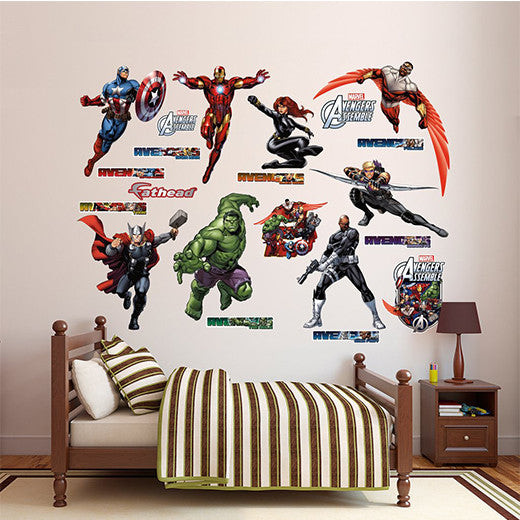 Removable Wall Stickers (Low Tack)8mil Low Tack Wall Decal - Fathead