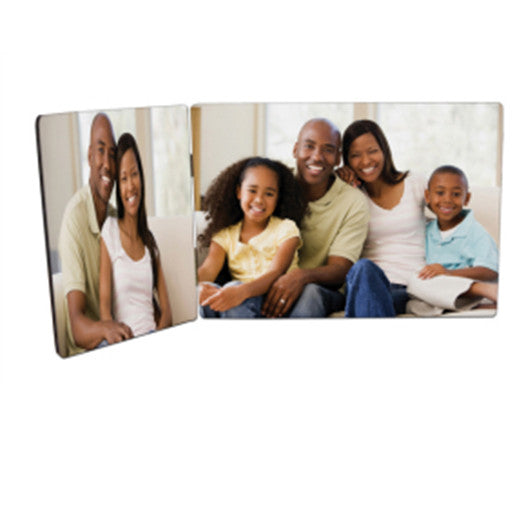 "3.5"" x 5"" & 5"" x 7"" ChromaLuxe Duo-Panel Photo Panels with Hinges"