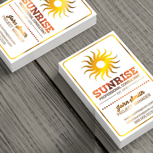 Color foil business cards ssmedia7 ltd color foil business cards color foil business cards reheart Gallery