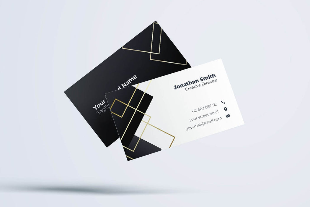 DFY BC 18 - Aesthetic Business Card Design