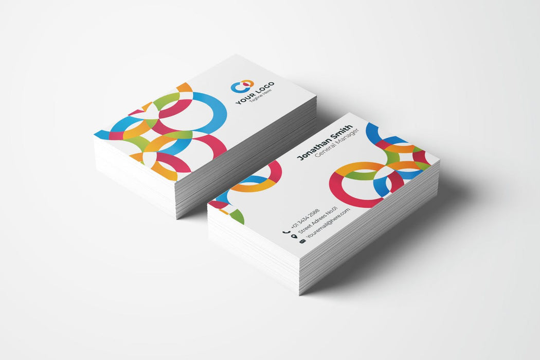 DFY BC 22 Paradoxical Business Card Design