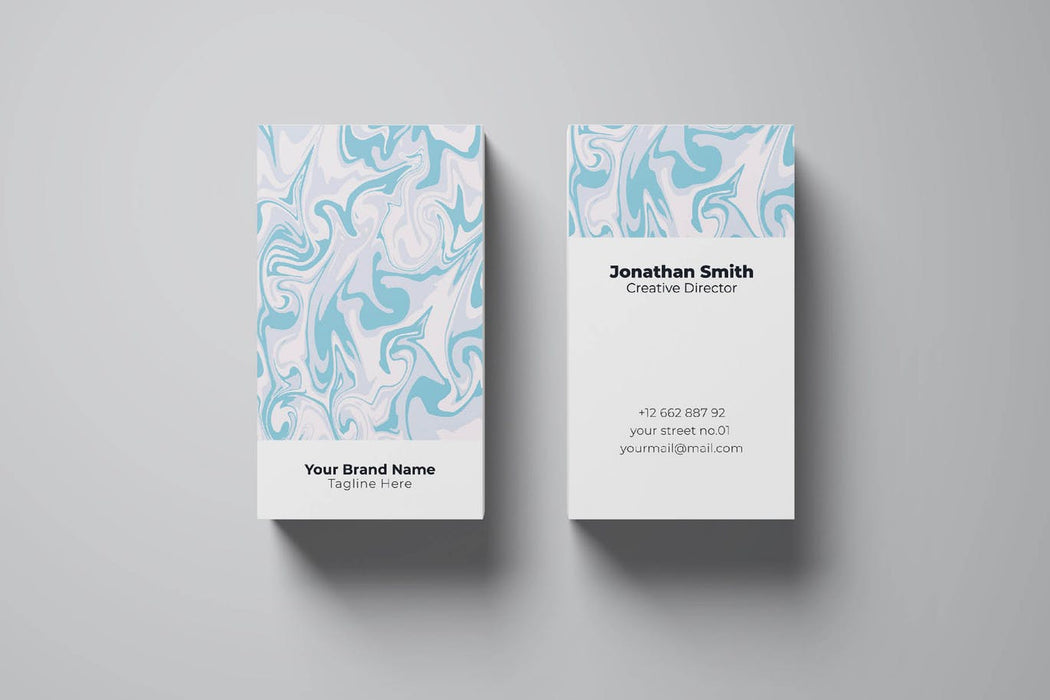 DFY BC 23 Tranquil Business Card Design