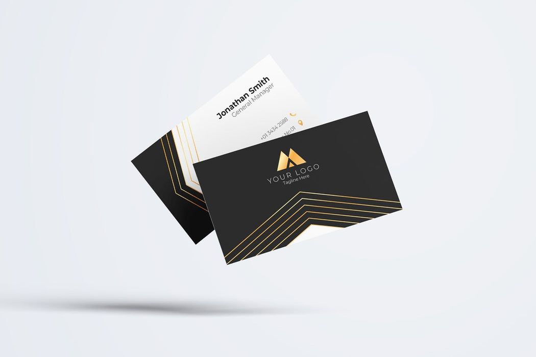DFY BC 24 Franquil Business Card Design