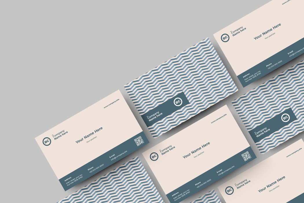 DFY BC 26 - Phenomenal Business Card Design
