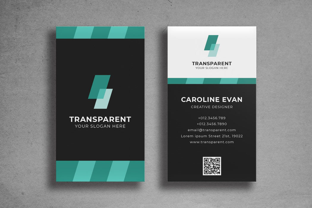 DFY BC 27 Colorful Business Card Design