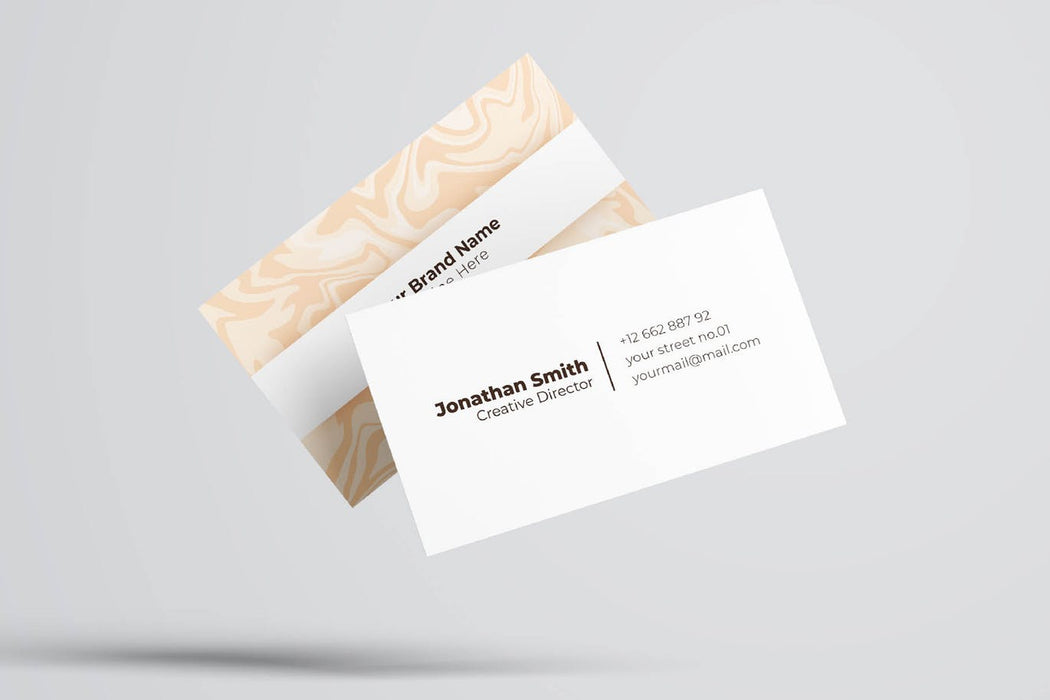 DFY BC 31 - Distinctive Business Card Design