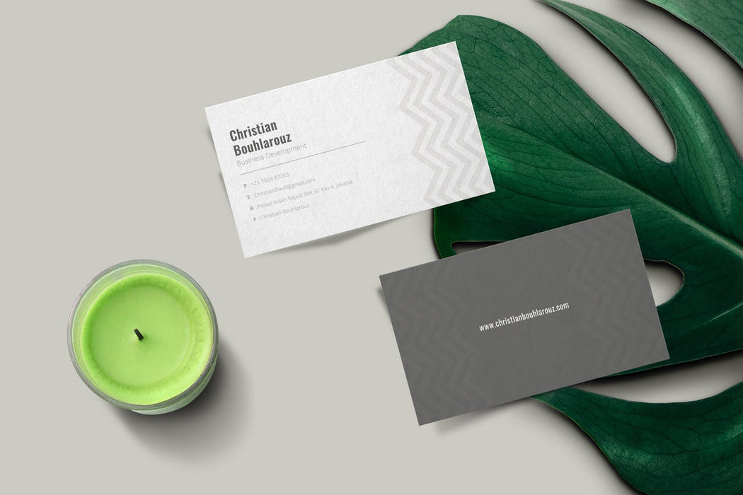 DFY BC 39 - Dynamic Business Card Design