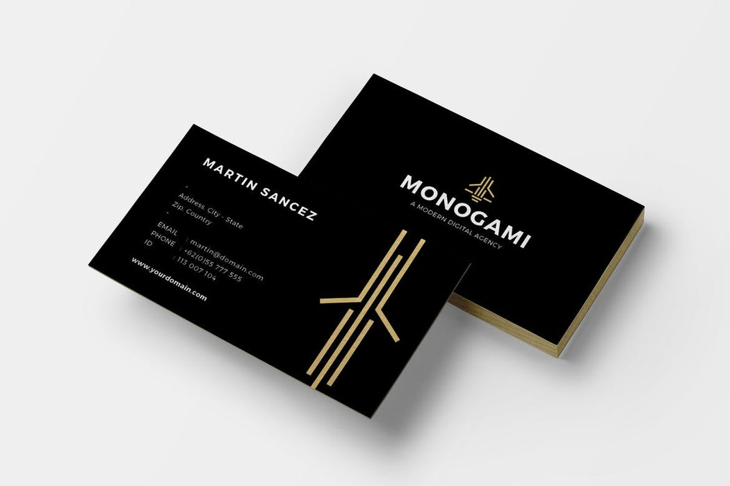 DFY BC 9 - Royal Business Card Design