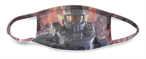 Halo Heros Poster - All Over Face Mask