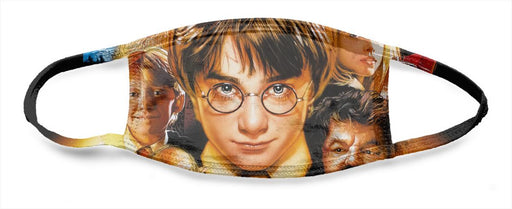 Harry Potter Movie Poster - All Over Face Mask