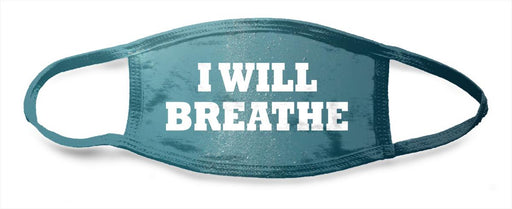 I Will Breathe Surfacing Water 2 - All Over Face Mask