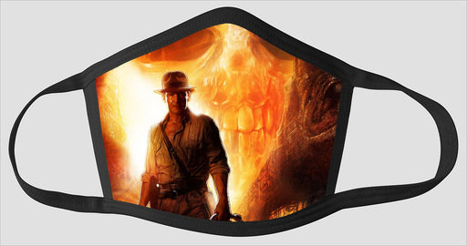 Indiana Jones Cyrstal Skull Poster - Face Mask