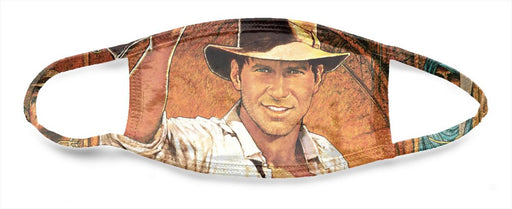 Indiana Jones High Art Poster - All Over Face Mask