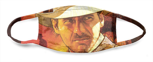 Indiana Jones Raiders of The Lost Ark Poster - All Over Face Mask