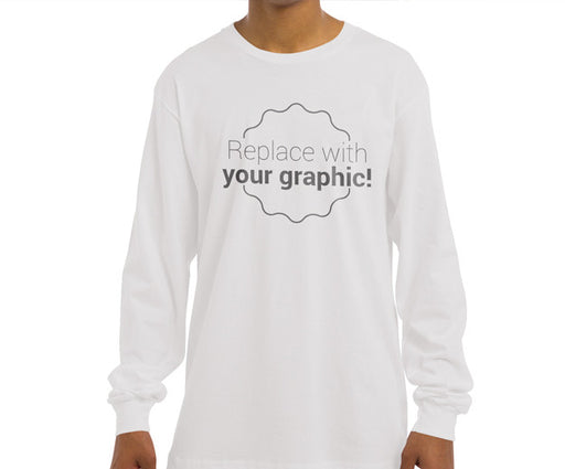 Graphic Tee HD Full Color Long Sleeve Shirt