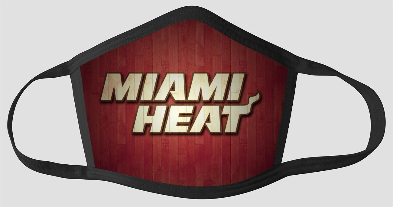 Miami Heat The Run v3 - Face Mask