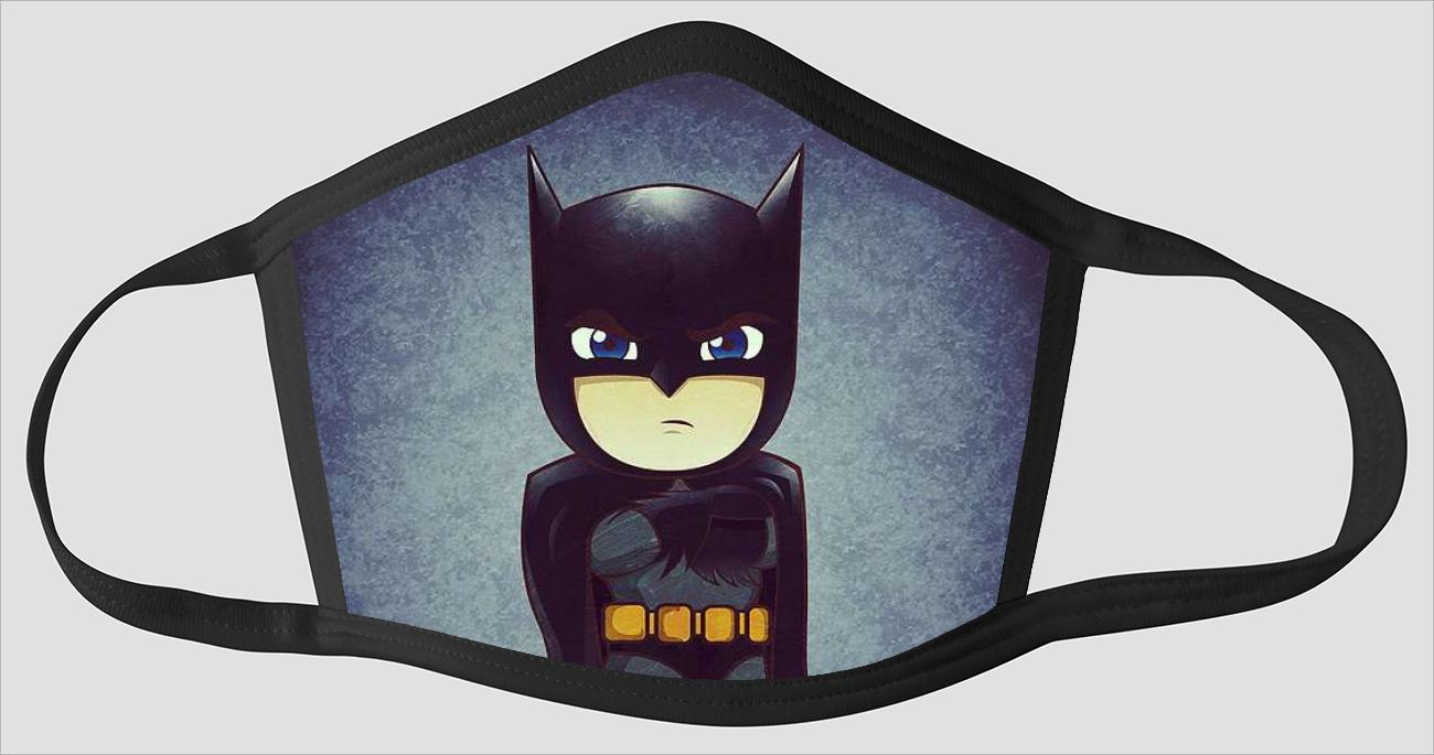 Mighty Kid Batman - Face Mask