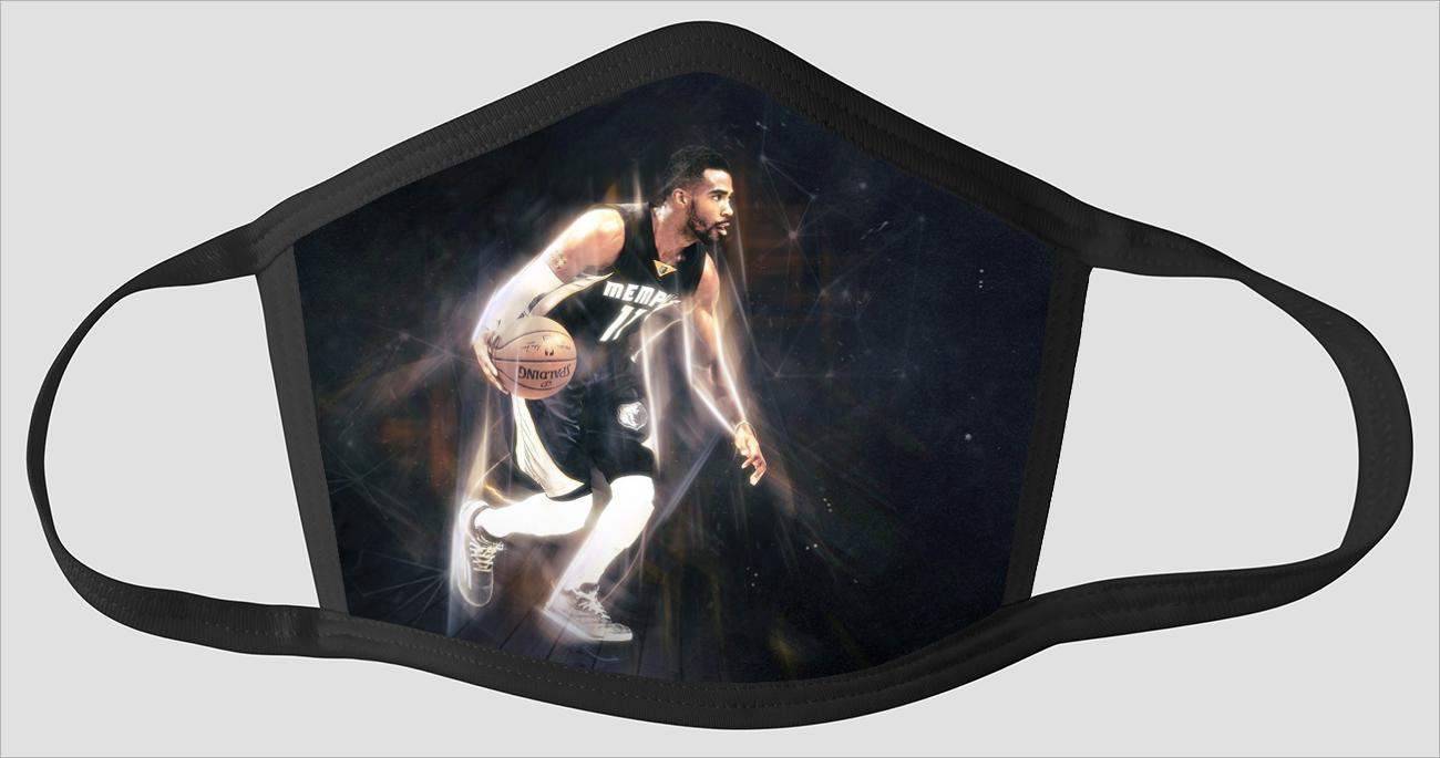 Mike Conley Memphis Grizzlies Come Hard - Face Mask