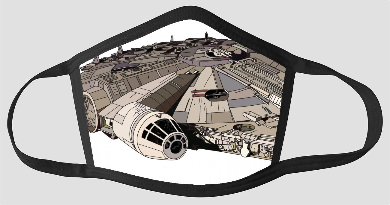 Millennium Falcon Master Art v11 - Face Mask