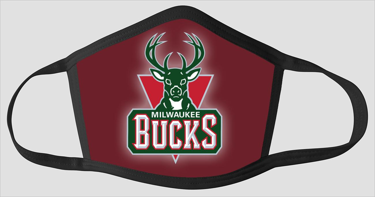 Milwaukee Bucks The Run v3 - Face Mask