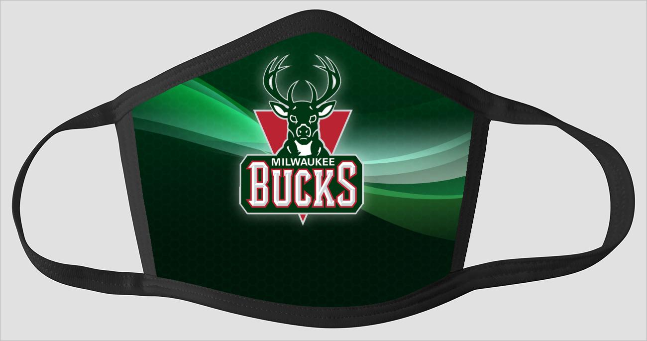 Milwaukee Bucks The Run v5 - Face Mask