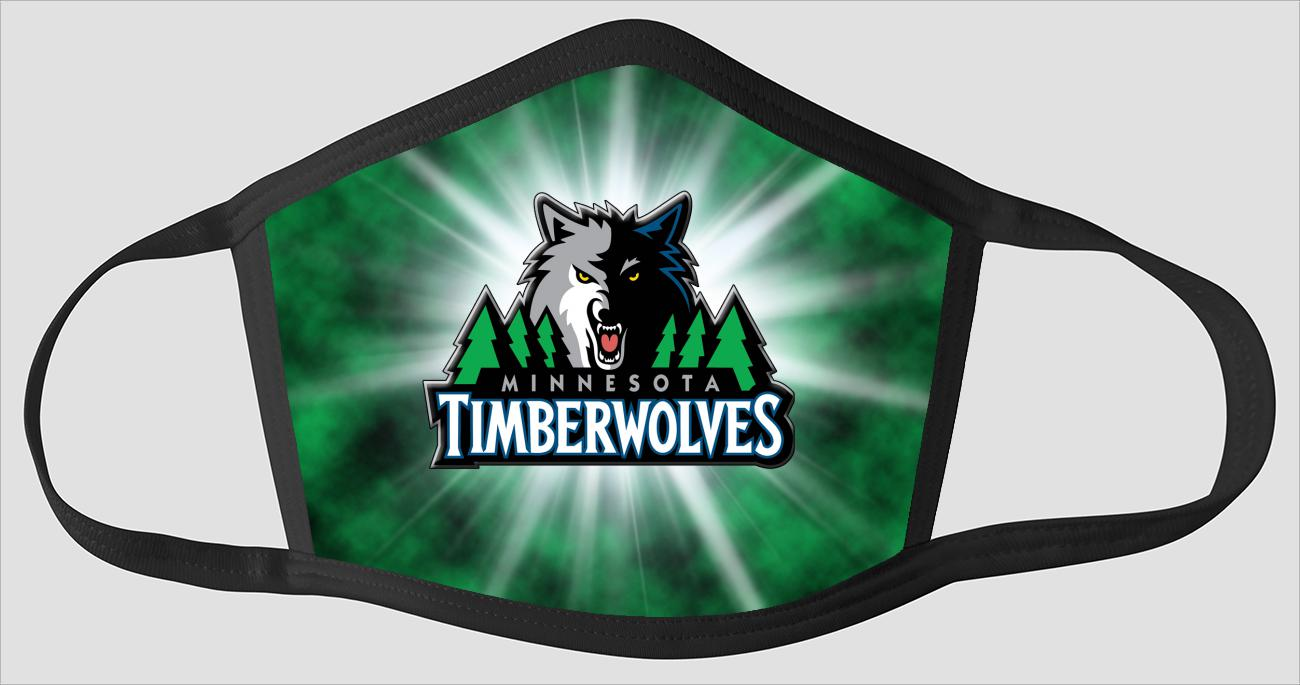 Minnesota Timberwolves The Run v3 - Face Mask