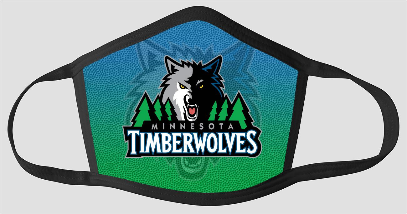 Minnesota Timberwolves The Run v5 - Face Mask