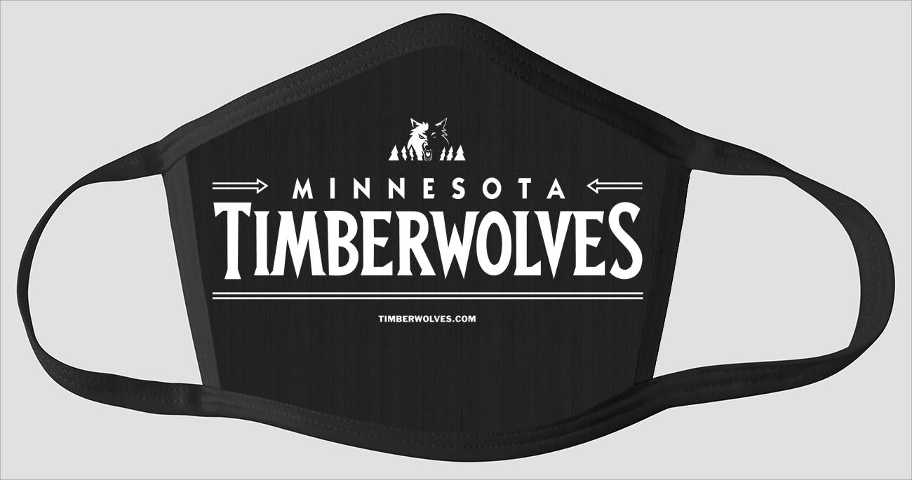 Minnesota Timberwolves The Run v7 - Face Mask