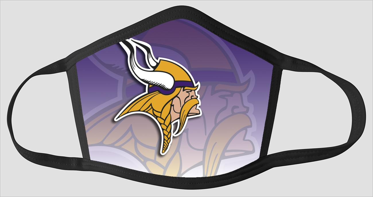 Minnesota Vikings   The Run v02 - Face Mask