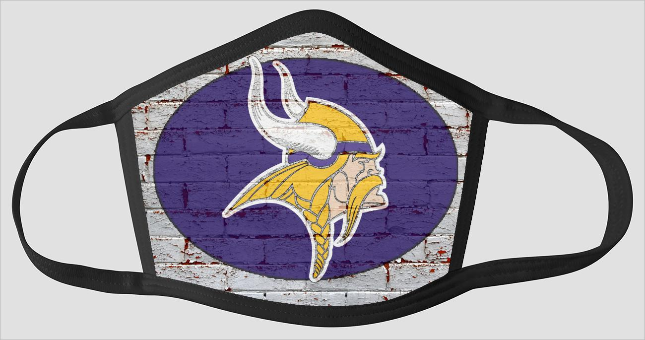 Minnesota Vikings   The Run v12 - Face Mask