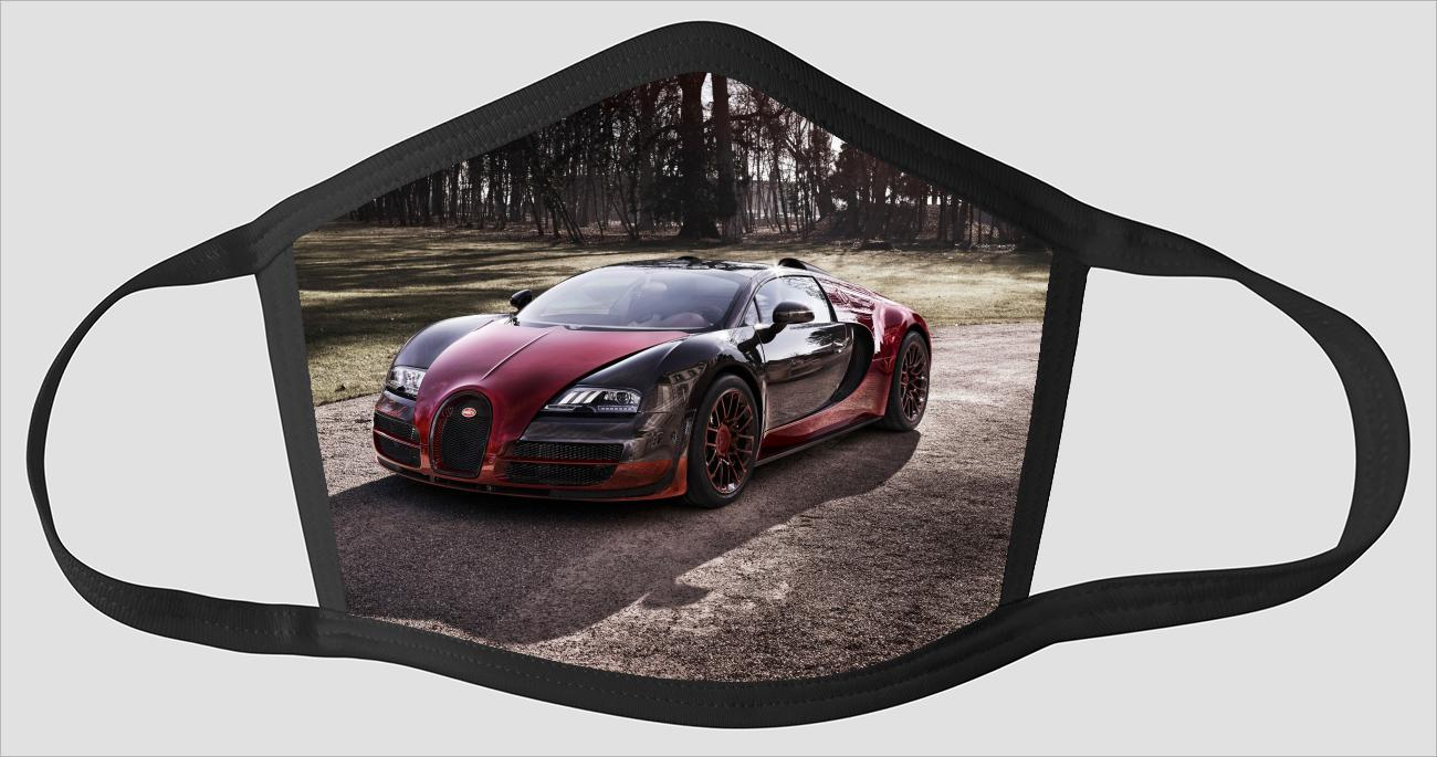 Mobile Bugatti Veyron v2126 - Face Mask