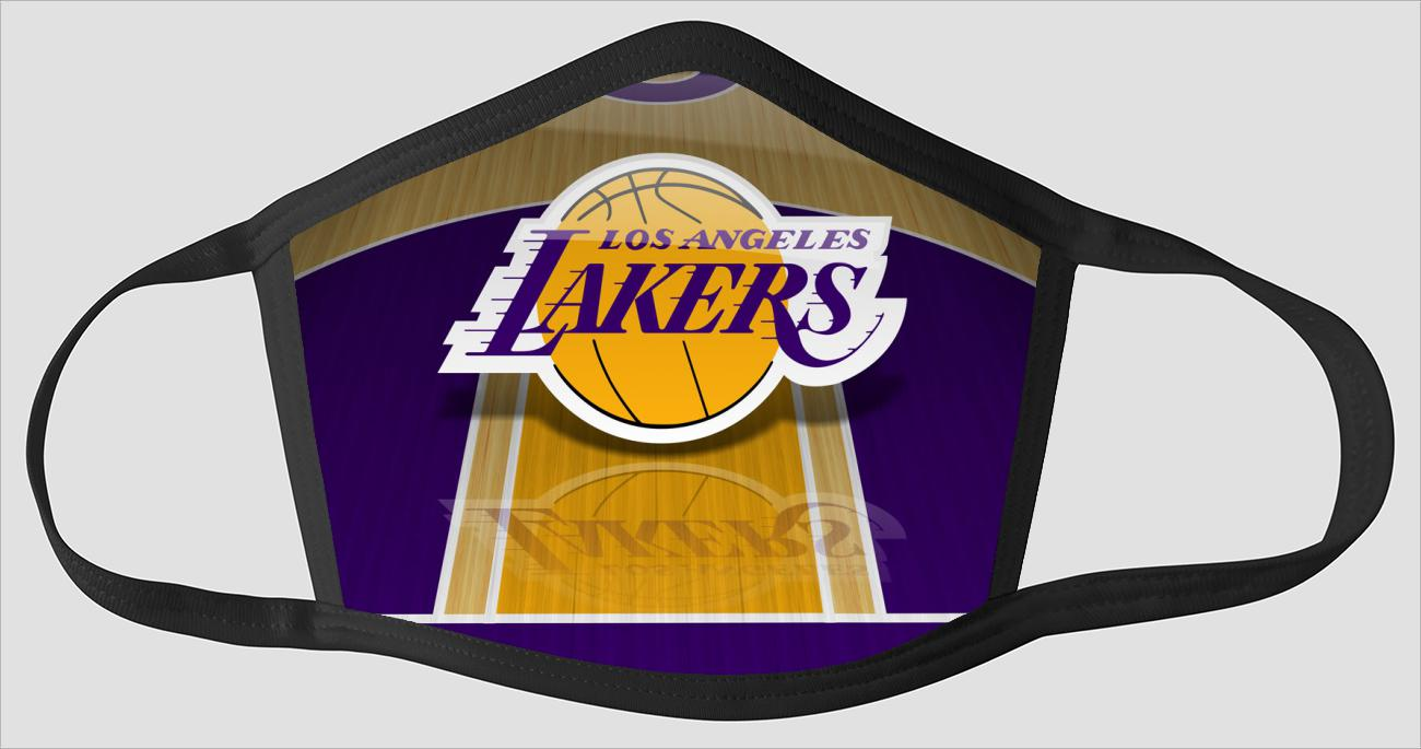 Mobile Los Angeles Lakers sv2141 - Face Mask