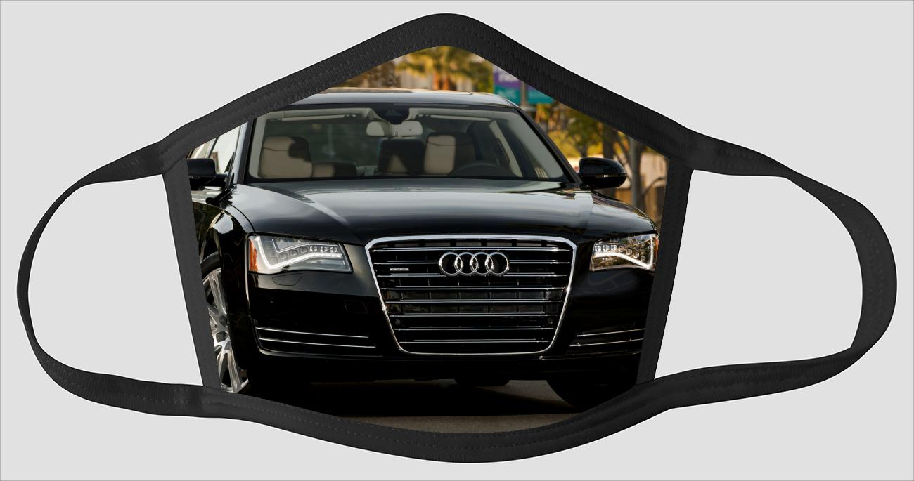 Most Beautiful Audi A8 L v2182 - Face Mask