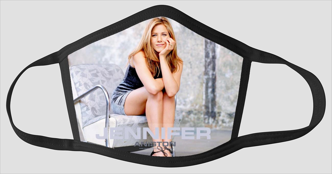 Most Beautiful Jennifer Aniston v2213 - Face Mask