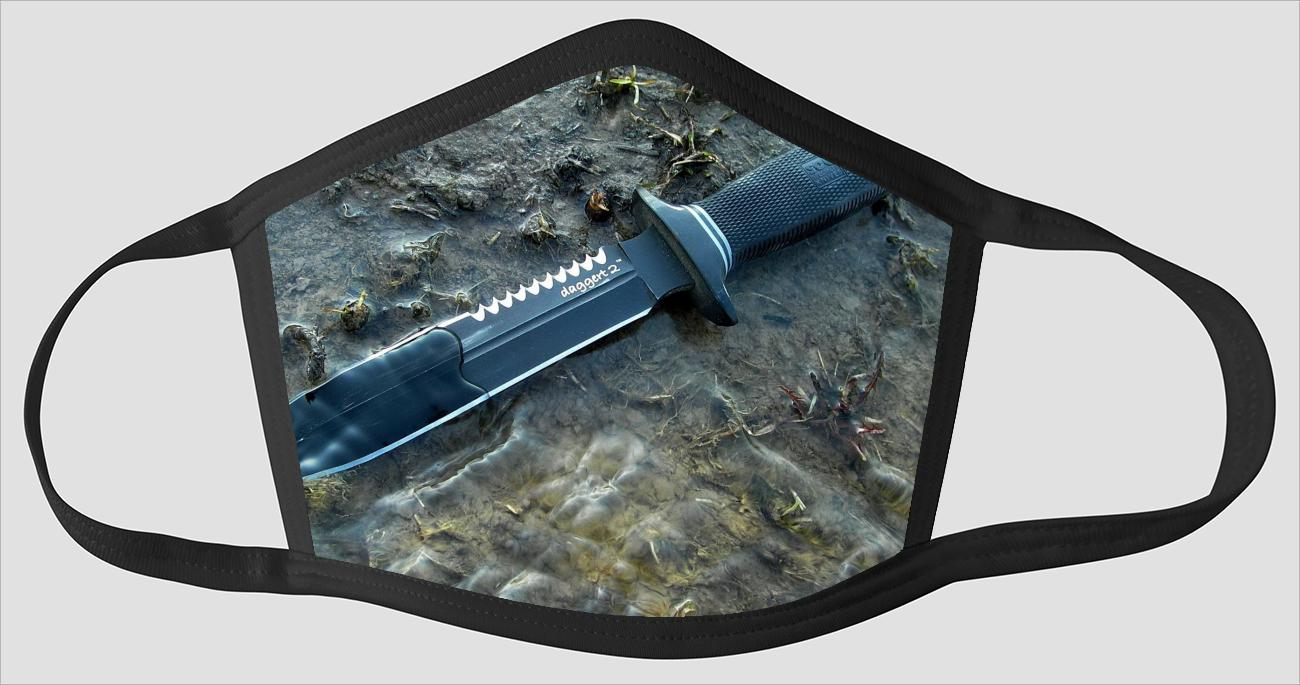 Most Beautiful Knife v2216 - Face Mask