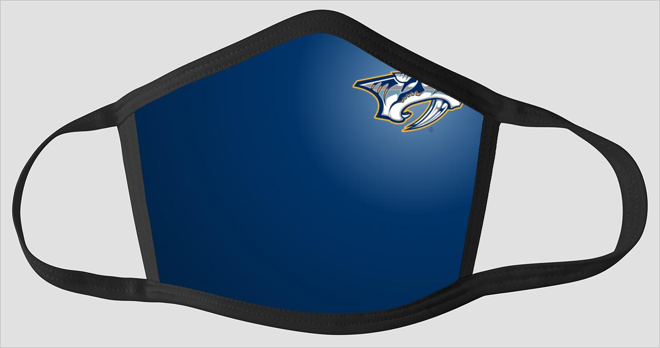 Most Beautiful Nashville Predators v2226 - Face Mask