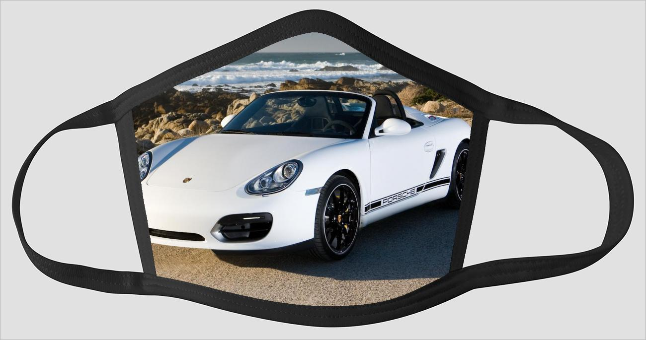 Most Beautiful Porsche Boxster sv2231 - Face Mask