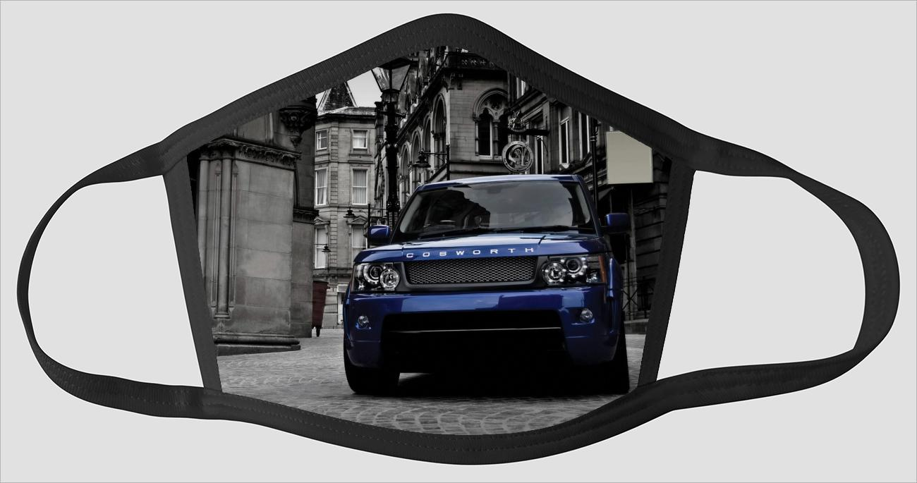 Most Beautiful Range Rover v2234 - Face Mask