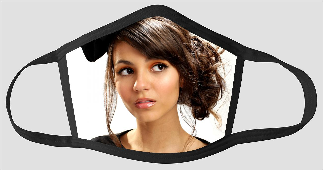 Most Beautiful Victoria Justice v2246 - Face Mask