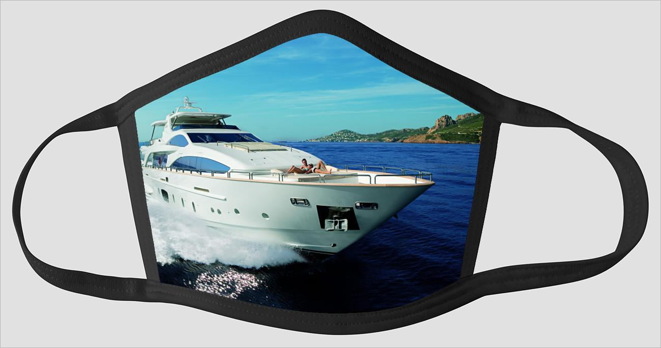 Most Beautiful Yacht sv2251 - Face Mask