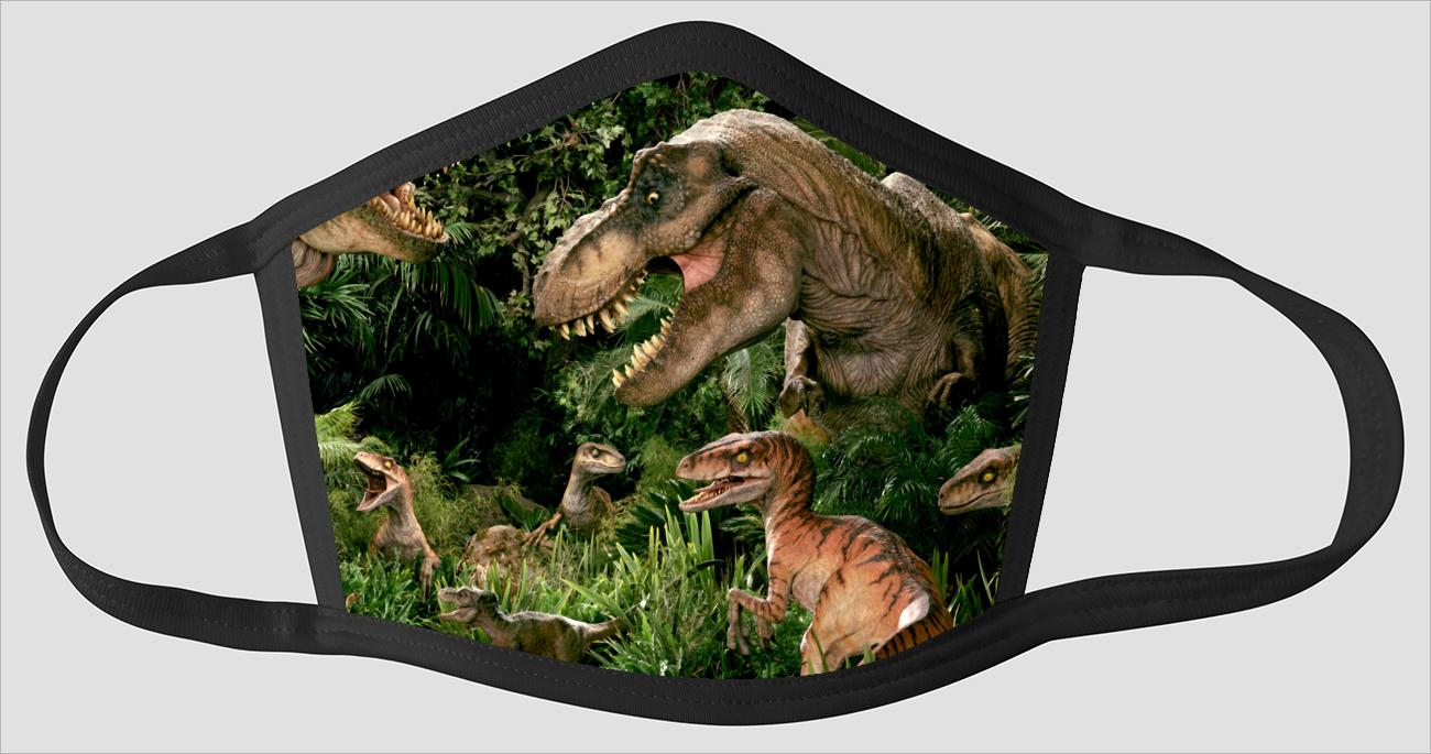 Most Popular Dinosaurs sv2255 - Face Mask