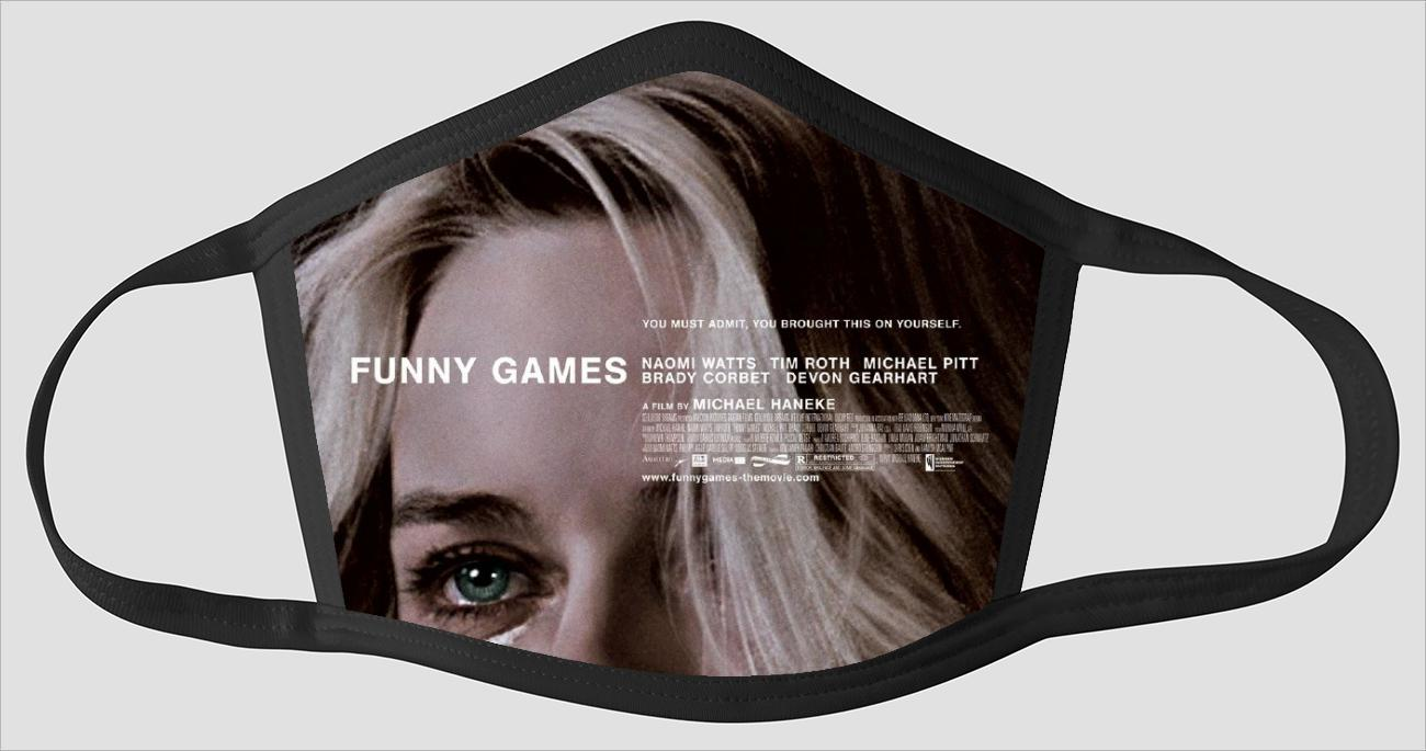 Movie Poster 108   Funny Games - Face Mask
