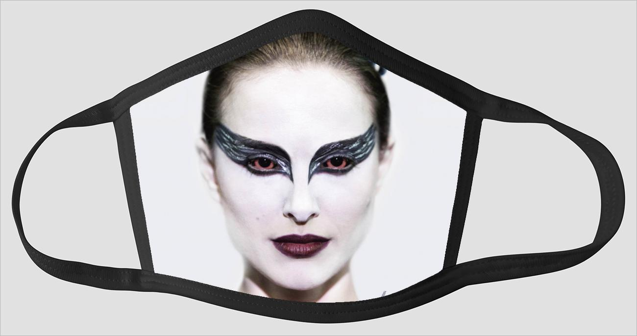 Movie Poster 10   Black Swan - Face Mask