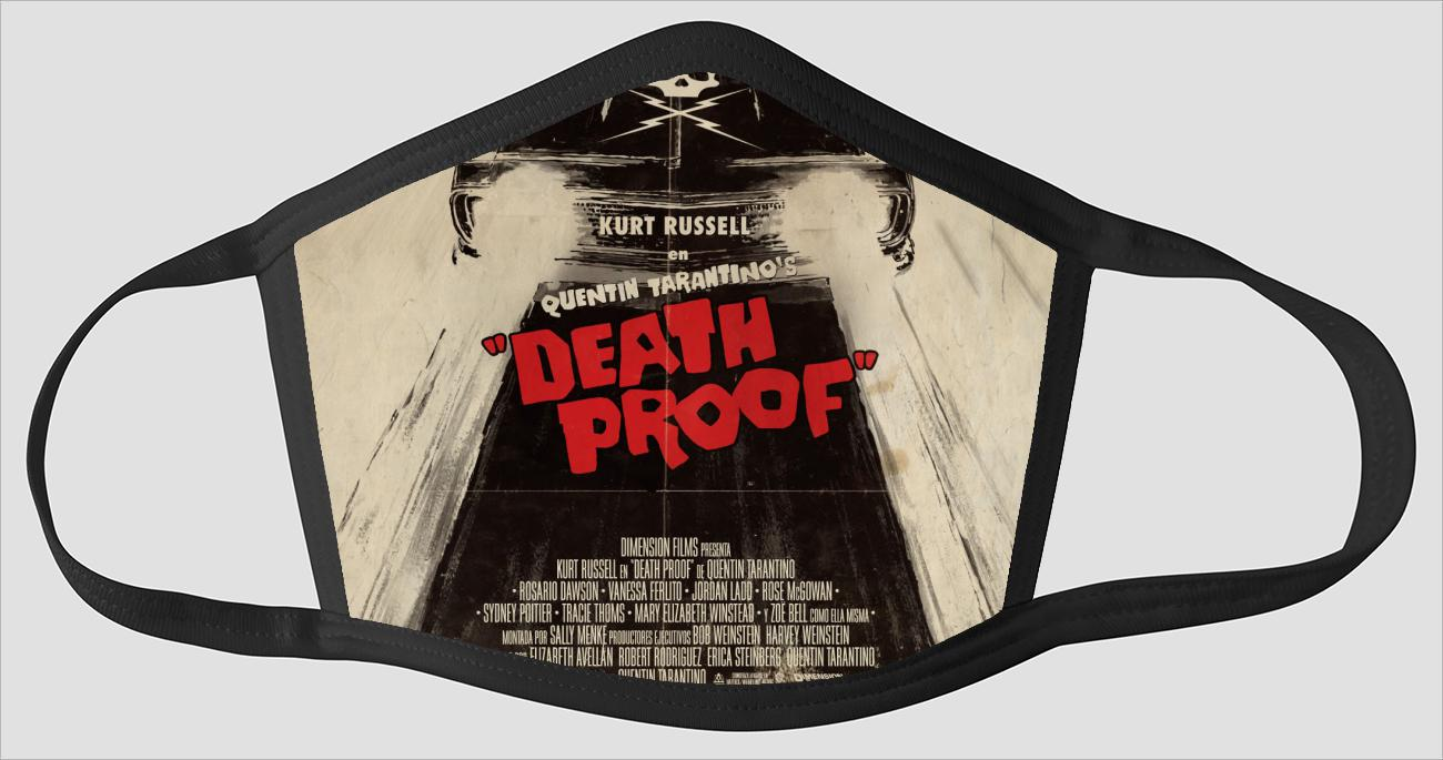 Movie Poster 112   Death Proof - Face Mask