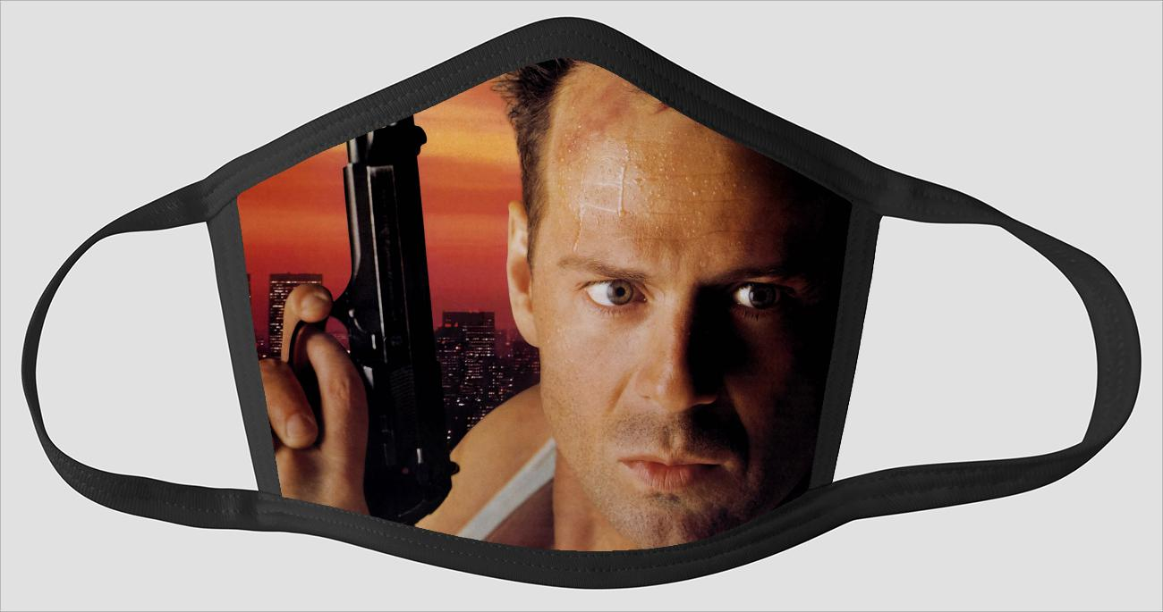 Movie Poster 29   Die Hard - Face Mask