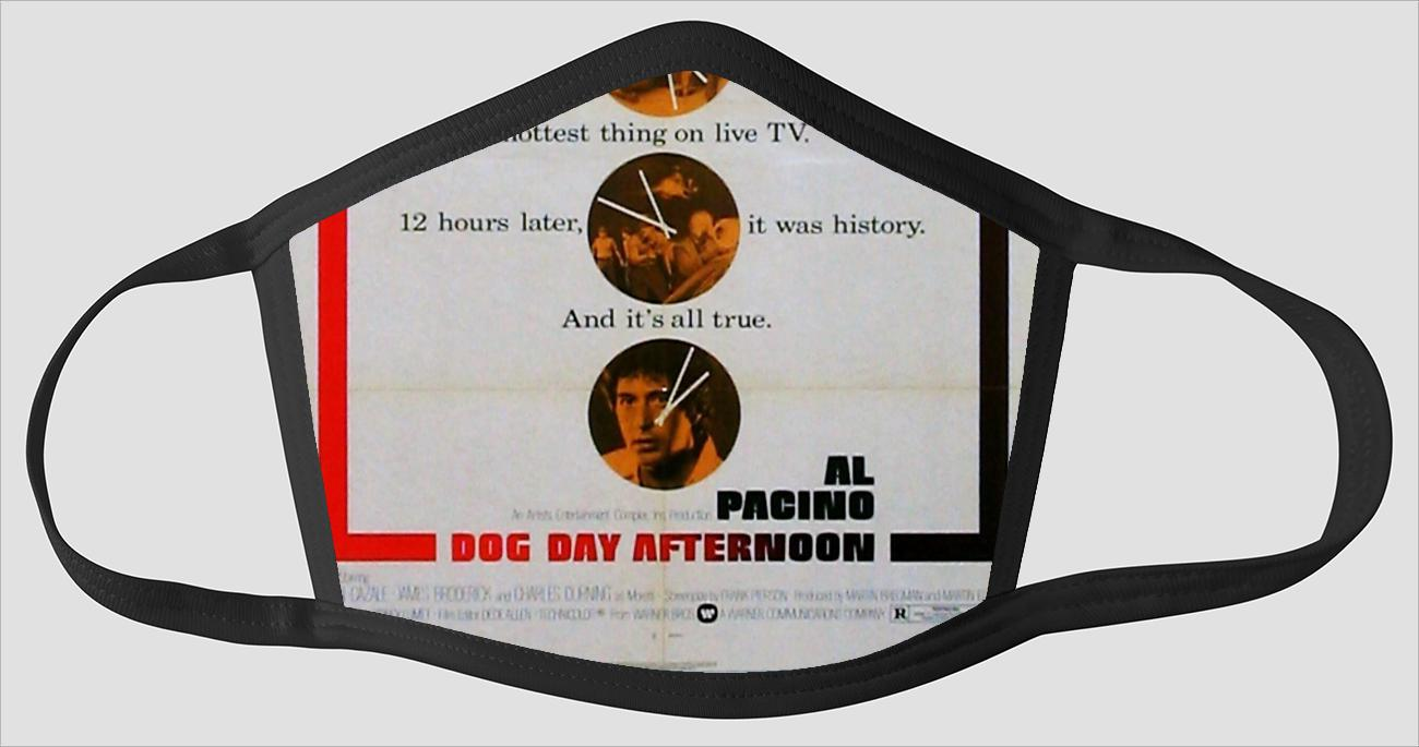 Movie Poster 36   Dog Day Afternoon - Face Mask