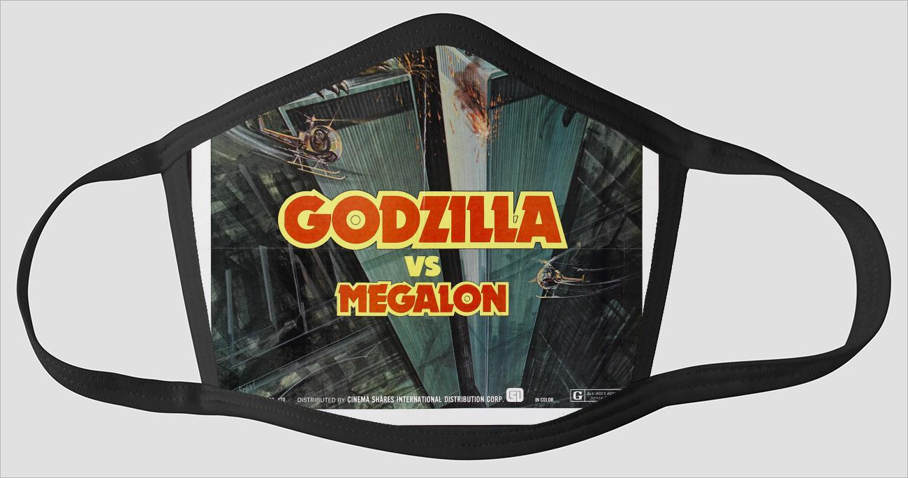 Movie Poster 45   Godzilla vs Megalon - Face Mask