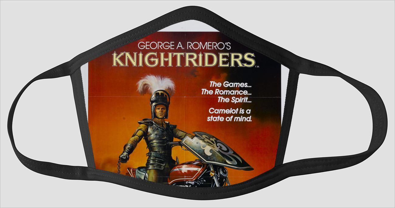Movie Poster 48   Knightriders - Face Mask